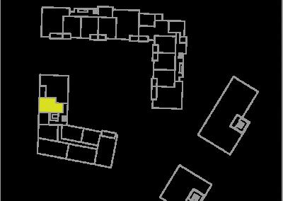 Wohnung C1.2 – 42,49 m²