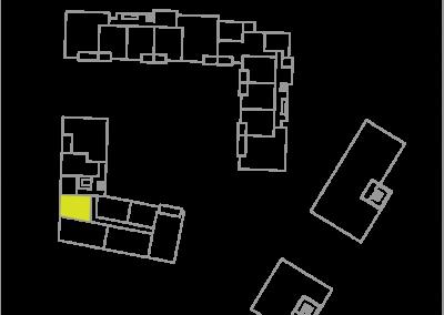 Wohnung C2.3 – 43,34 m²