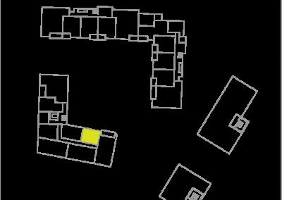 Wohnung C2.7 – 35,64 m²
