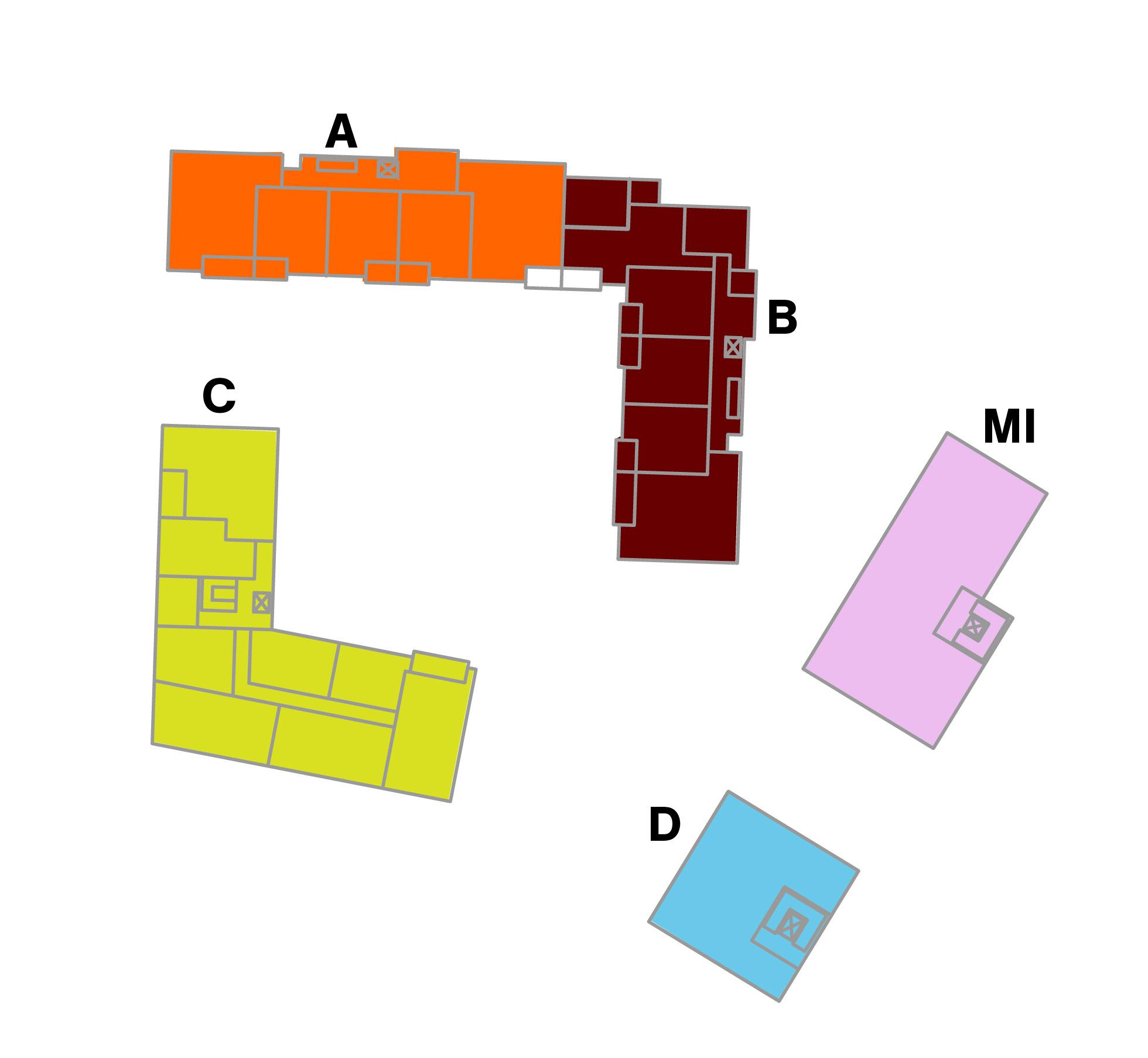 Ausschnitt aus Lageplan